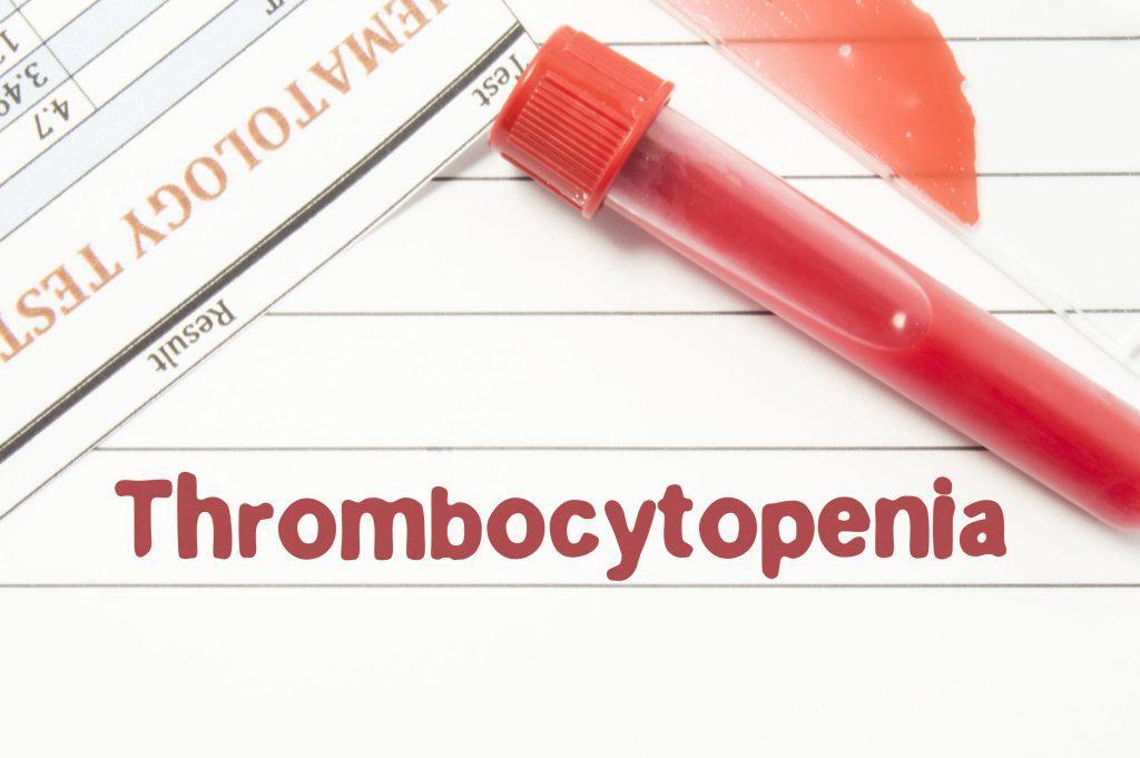 Тромбоцитопения – что это такое?