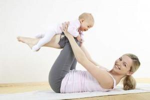 Как быстро прийти в форму после родов