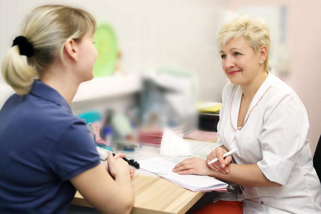 Мазки на приеме у гинеколога