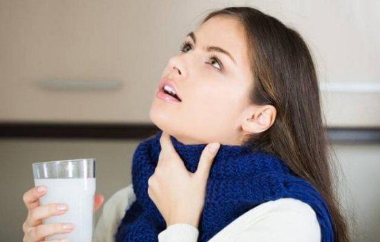 Народные средства от воспаления горла.