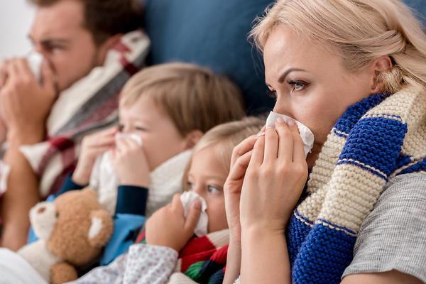 Как зимой уберечься от простуды и гриппа