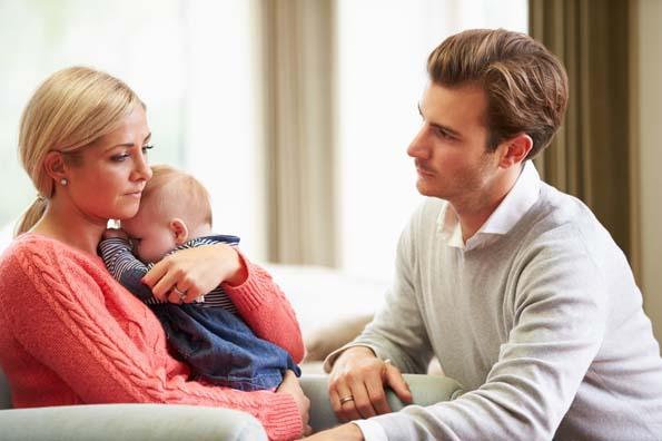 Почему муж охладел после рождения ребенка?