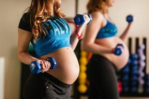 Спортивная жизнь беременным только полезна